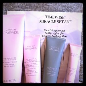 Time wise miracle set 3D by Mary Kay 4 piece set